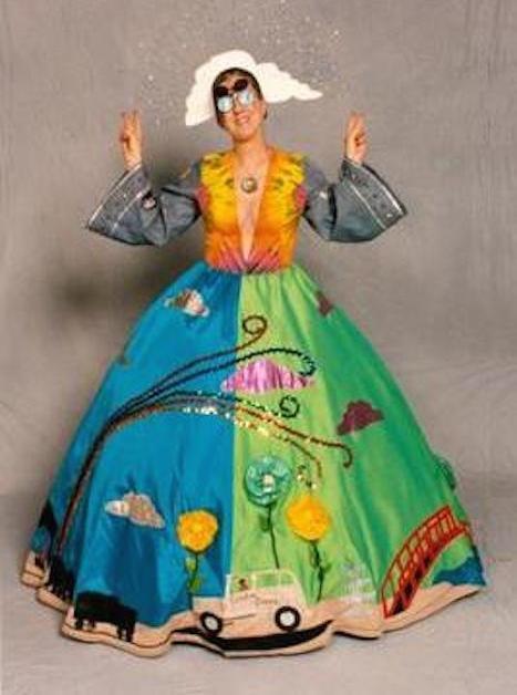 Kathy Bushman Sanders in costume