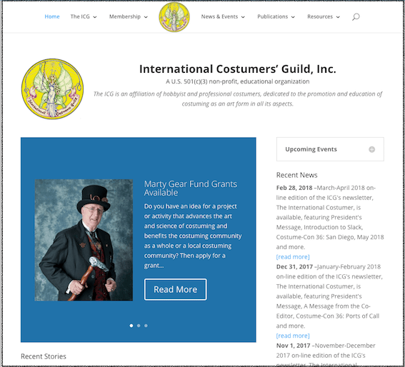 New ICG Website Goes Live!