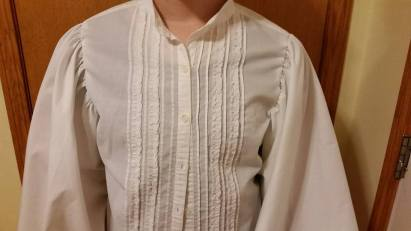 Top view upcycle shirt