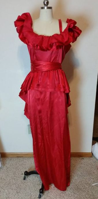donated dress front