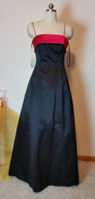 front of black dress #2
