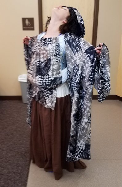 transforming costume. Marie in Cinderella