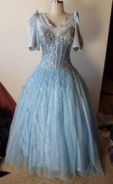 front of dress, Marie in Cinderella