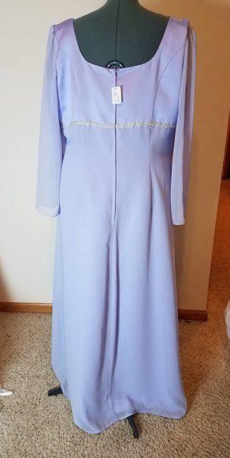 back of Dress #1