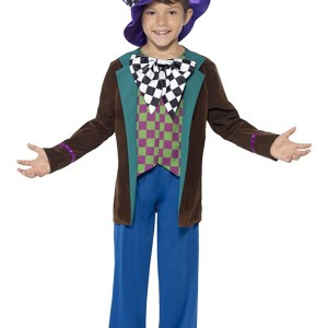 Crazy Hatter Boy's Costume