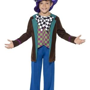 Crazy Hatter Boy's Costume