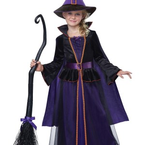 Girls Hocus Pocus Witch Costume