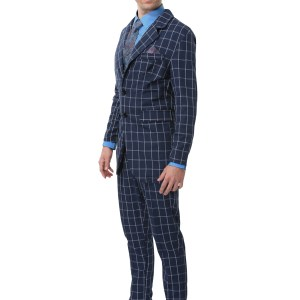 Hannibal Lecter Plus Size Costume Suit for Men 2X