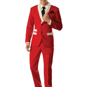 Men's Christmas Santa Suit Costume