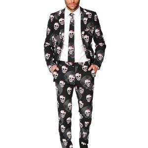 Men's OppoSuits Skulleton Suit Costume