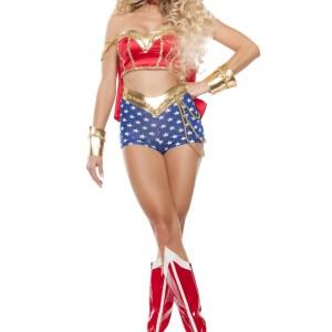 Women's Classic Sexy Wonder Lady Costume