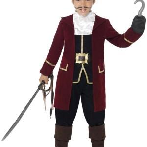 Deluxe Captain Hook Costume for Boys