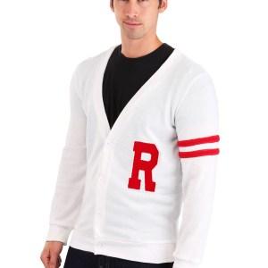 Deluxe Grease Rydell High Men's Letterman Sweater for Men
