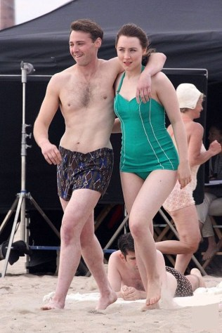 Saoirse Ronan and Emory Cohen
