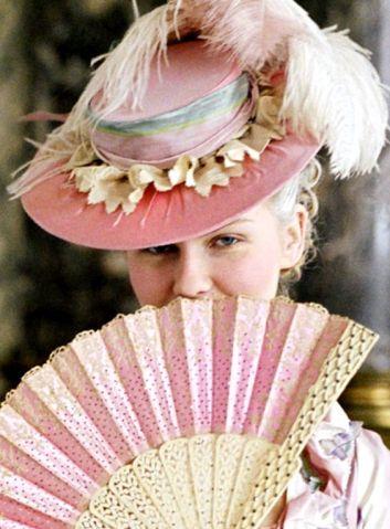 Kirsten Dunst en Marie-Antoinette