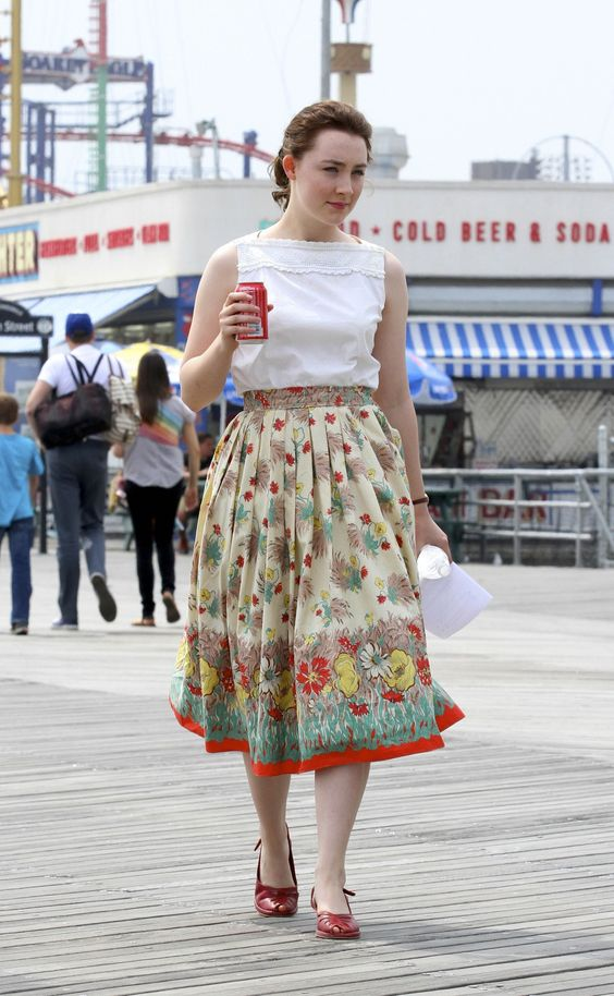 "Saoirse Ronan sur le tournage de ""Brooklyn"""