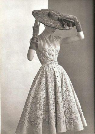 Robe années 1950