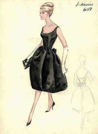Robe Lanvin des années 50 (1)