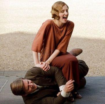 Sur le tournage de Downton Abbey (29)