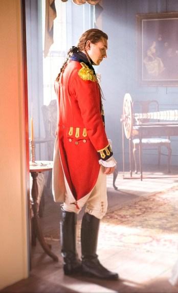 JJ Feild as Major John Andre and Samuel Roukin as Captain Simcoe - TURN: Washington's Spies _ Season 2, Press Kit Unit - Photo Credit: Antony Platt/AMC