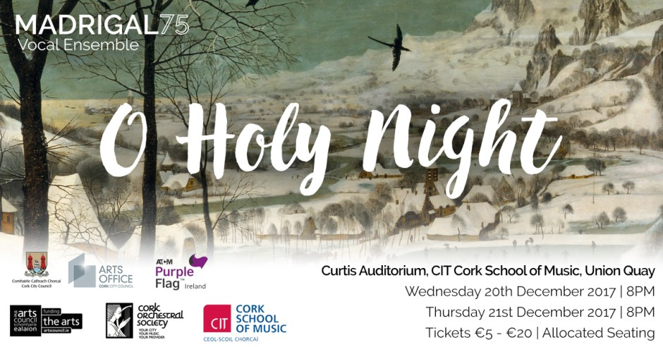 Madrigal 75 Christmas Concerts | Cork Orchestral Society