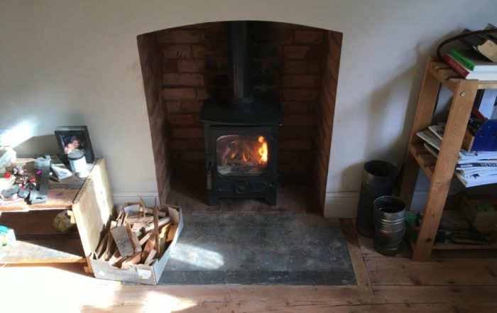 Installation of Charnwood Country 4 in Milverton