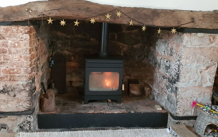 Wood burning stove installers Credition installation