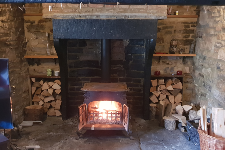 Woodburner installation Westonzoyland