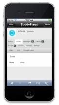 BuddyMobile - Profile