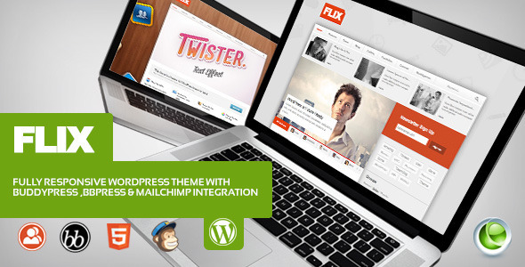 Flix for WordPress & BuddyPress