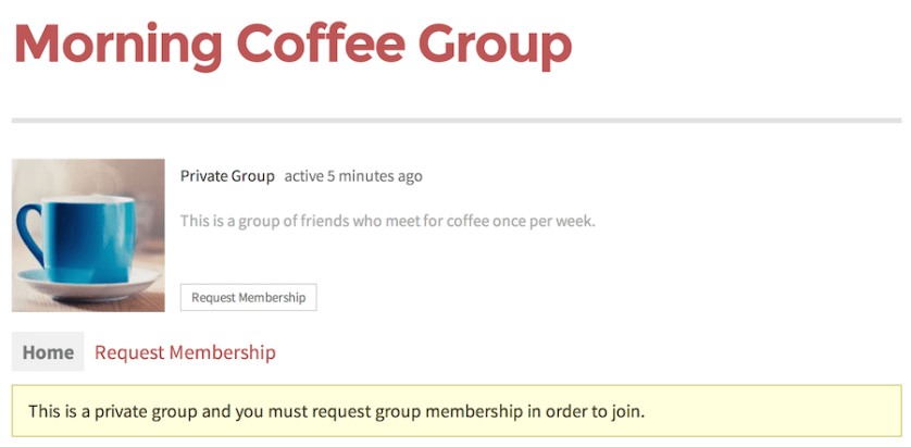 private-group
