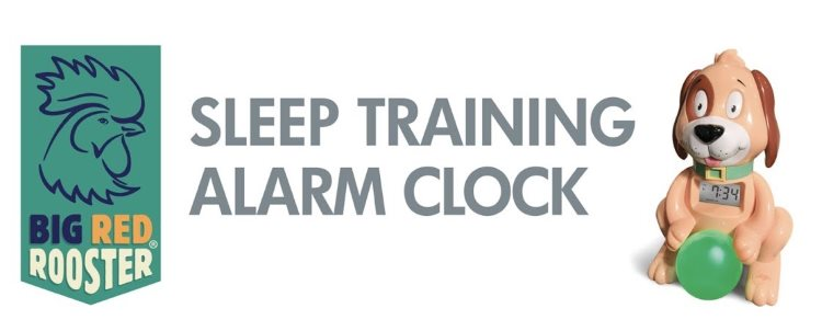Big Red Rooster Sleep Training Alarm Clock Review