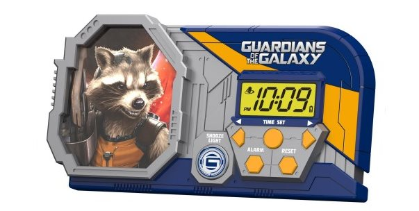 Guardians of the Galaxy Night Glow Alarm Clock Review