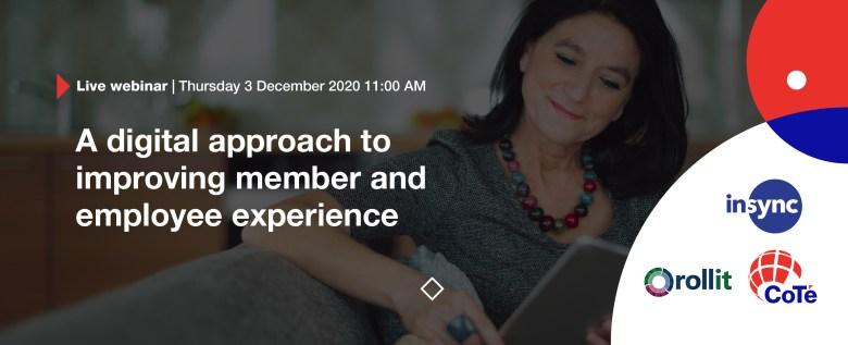 Member experience webinar