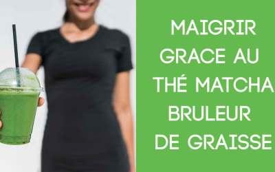 Boire du Thé Vert Matcha pour Maigrir. Le thé Brûle Graisse à la Mode.
