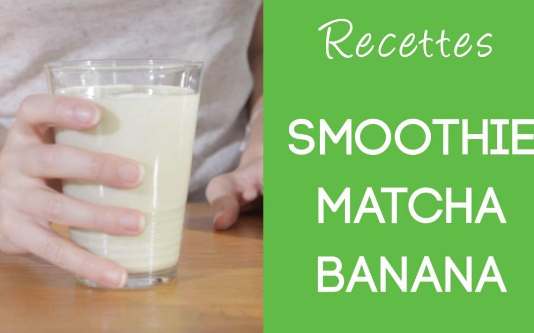 Smoothie Matcha Banana