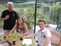Papy, Ilana et Quentin