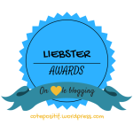 Liebster awards: Côtépositif nominé!!!