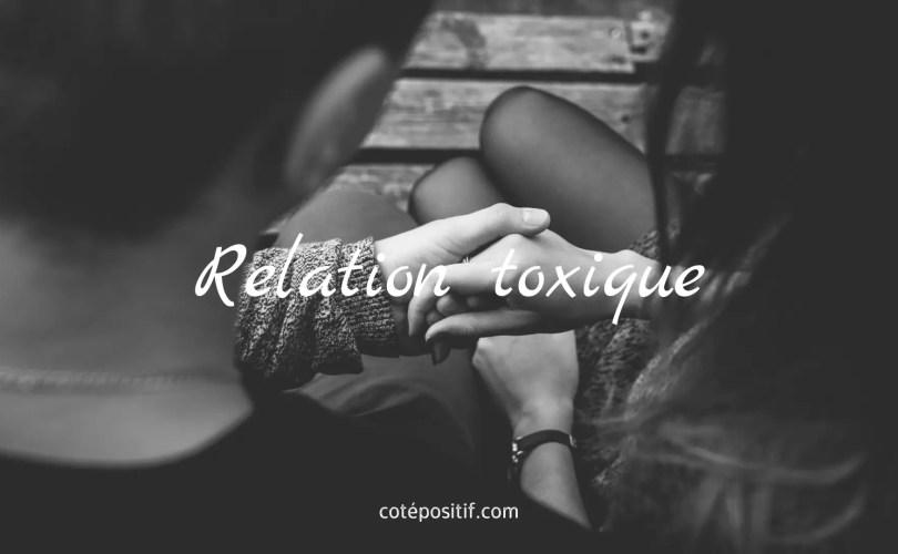 relation toxique et destructrice