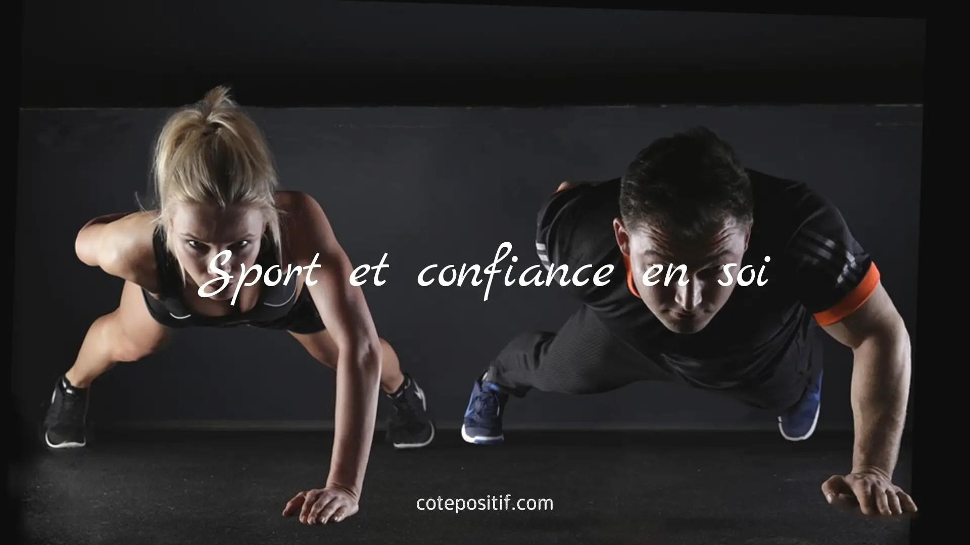 confiance en soi et sport