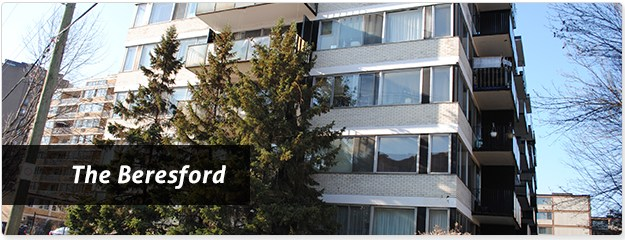 Cote Saint Luc Beresford Apartments for Rent