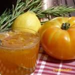 Confiture tomate jaune