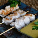 Brochette poulet sauce satay