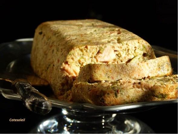 Terrine courgettes & saumon frais