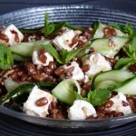 Salade épautre, feta & concombre