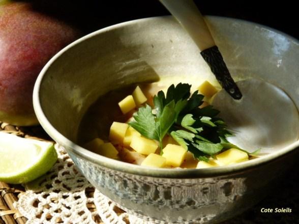 Ravioles de gambas sauce citronnelle & galanga