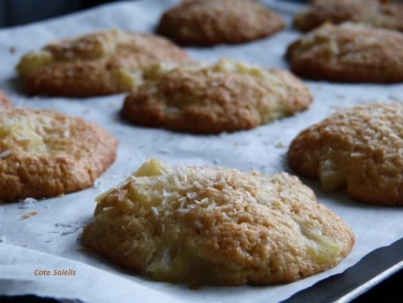 Cookies ananas coco