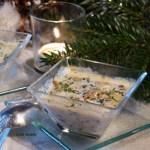 Cassolette de pétoncles & champi