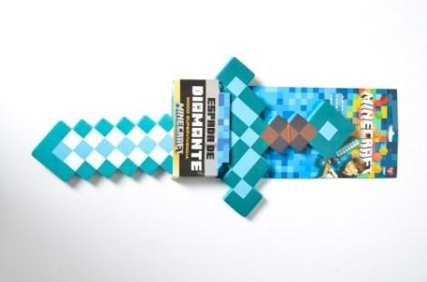 Espada Chica Diamante Minecraft