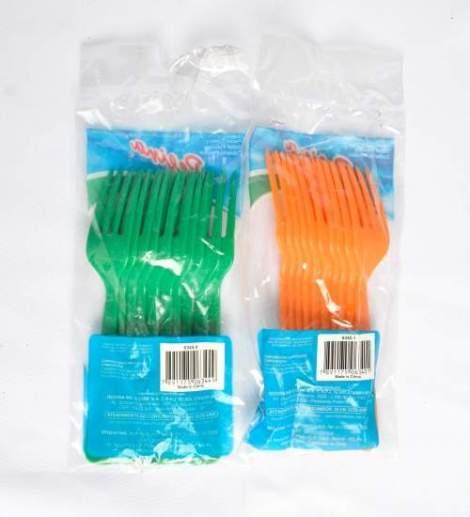 Tenedores de Colores